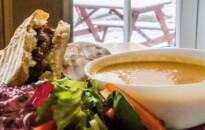 The Soup Dragon Cafe interior