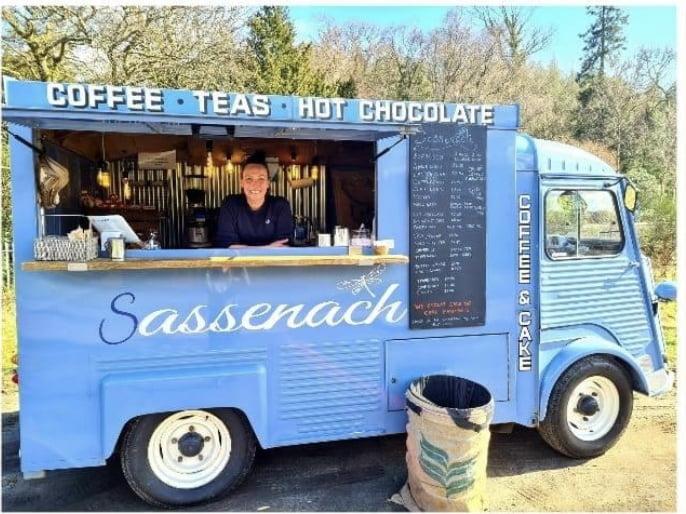 Sassenachs coffee van