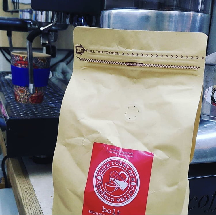 Village Hub shop takeaway coffee